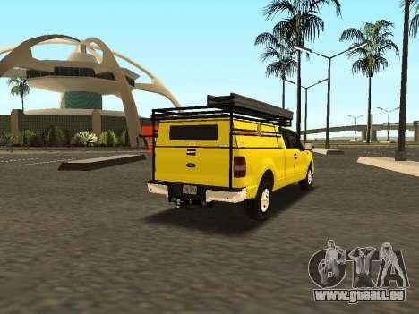 Ford F-150 für GTA San Andreas Rückansicht