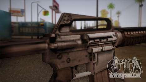 M4 de Max Payne pour GTA San Andreas quatrième écran