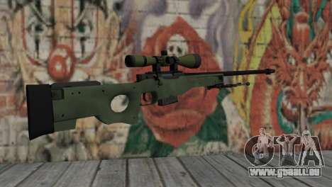 AWP from CS:GO pour GTA San Andreas deuxième écran