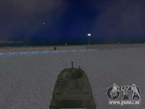 PT-76 für GTA San Andreas Rückansicht