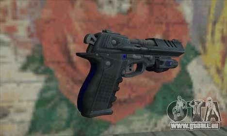 Strader MK VII FEAR3 pour GTA San Andreas deuxième écran