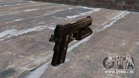 Pistolets semi-automatiques Kimber pour GTA 4 secondes d'écran