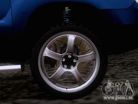 Subaru Forester 2.5XT 2005 pour GTA San Andreas vue de droite