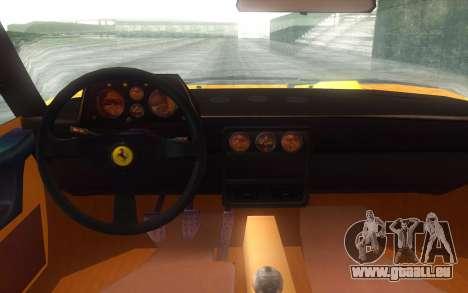 Ferrari 328 GTB für GTA San Andreas rechten Ansicht