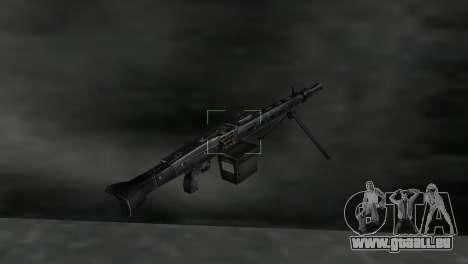 Maschinengewehr MG-3 für GTA Vice City dritte Screenshot