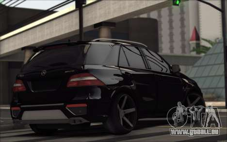 Mercedes-Benz ML63 AMG für GTA San Andreas rechten Ansicht
