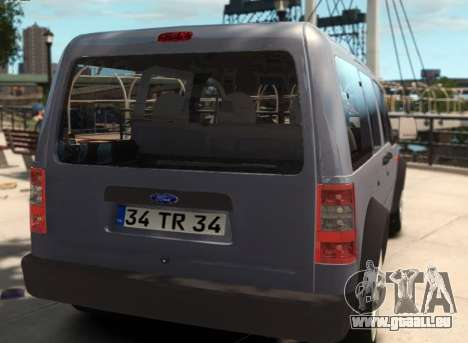 Ford Transit Connect für GTA 4 linke Ansicht