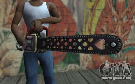 Vu Juliette pour GTA San Andreas troisième écran