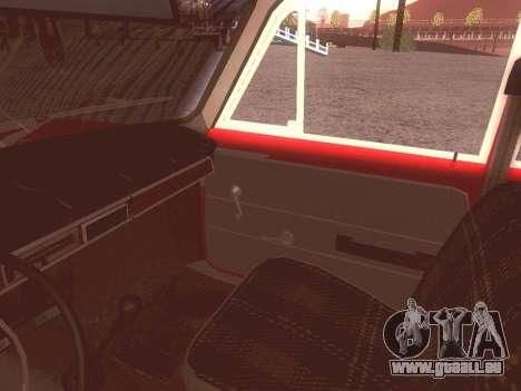 Fiat 124 pour GTA San Andreas vue de côté