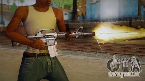 M4 de Max Payne pour GTA San Andreas troisième écran