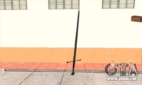 Sword Narsil pour GTA San Andreas deuxième écran