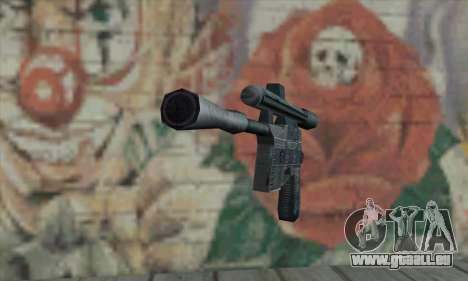 Blaster de Star Wars pour GTA San Andreas