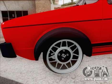 Volkswagen Golf GTI MK1 für GTA San Andreas linke Ansicht