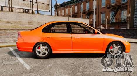 Honda Civic VTEC für GTA 4 linke Ansicht