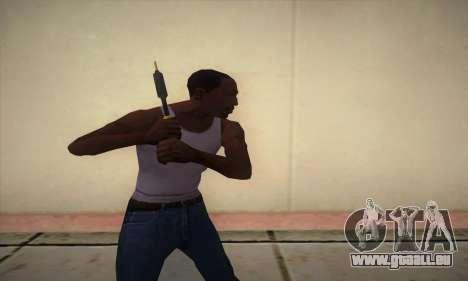 Un fer à souder pour GTA San Andreas troisième écran