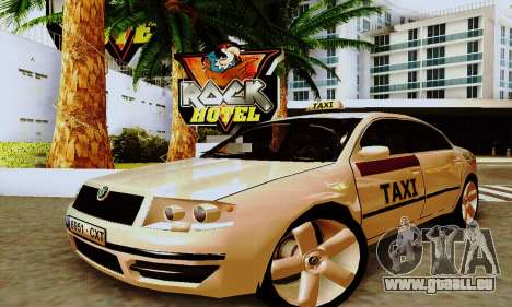 Skoda Superb 2.2 Spanish TAXI pour GTA San Andreas
