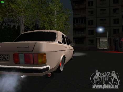 GAZ 3102 Stance pour GTA San Andreas vue arrière