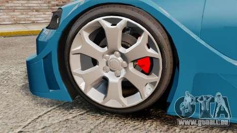 Opel Astra Coupe OPC Road Edition pour GTA 4 Vue arrière