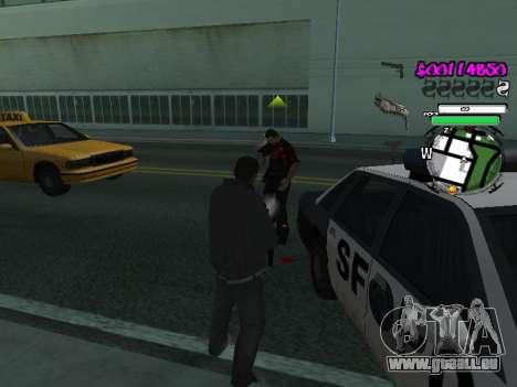 HUD pour GTA San Andreas quatrième écran