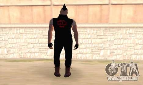 Till Lindemann für GTA San Andreas zweiten Screenshot