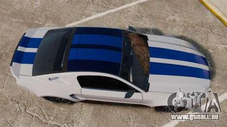Ford Mustang GT 2013 NFS Edition pour GTA 4 est un droit