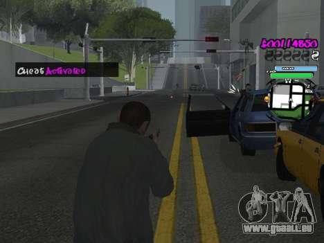 HUD pour GTA San Andreas onzième écran