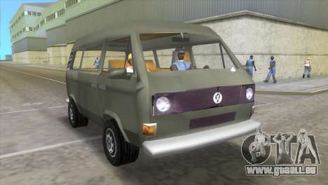 Volkswagen Transporter T3 für GTA Vice City