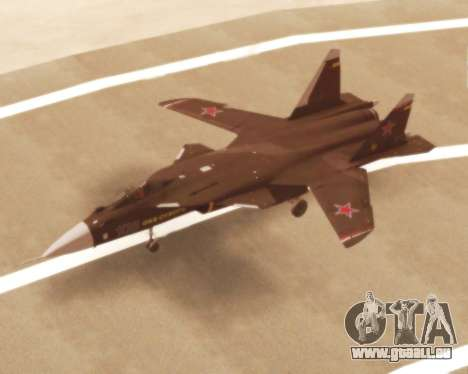 Su-47 Berkut v1.0 pour GTA San Andreas