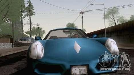 Stinger de GTA 3 pour GTA San Andreas sur la vue arrière gauche