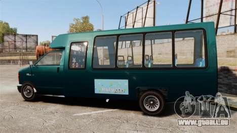 GTA V Brute Tour Bus für GTA 4 linke Ansicht