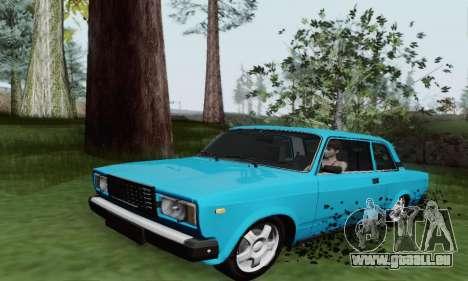 VAZ 2107 Coupe für GTA San Andreas linke Ansicht