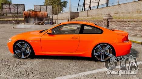 BMW M6 für GTA 4 linke Ansicht