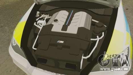 BMW X5 City Of London Police [ELS] für GTA 4 Innenansicht