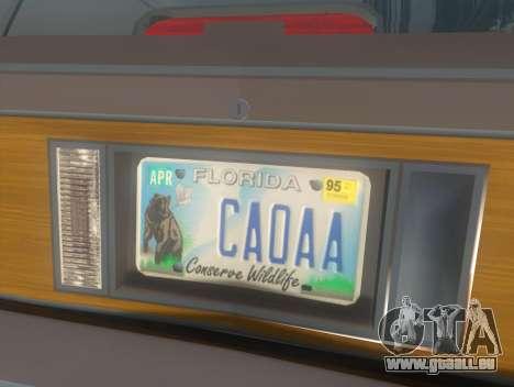 Oldsmobile Cutlass Ciera Cruiser pour GTA San Andreas vue arrière