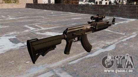 AK-47 Tactical Gear pour GTA 4 secondes d'écran