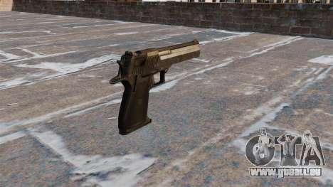 Desert Eagle Pistole MW3 für GTA 4 Sekunden Bildschirm