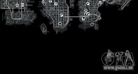 Cliffside emplacement Rallye pour GTA 4 douzième d'écran