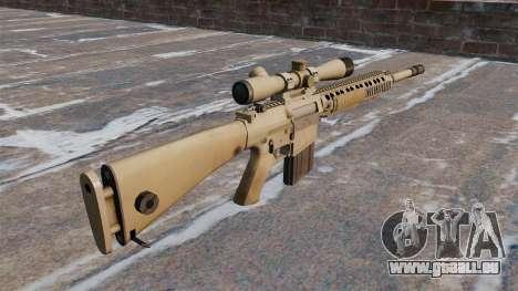 Le fusil de sniper M110 SASS pour GTA 4 secondes d'écran