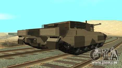 GTA V Rhino pour GTA San Andreas laissé vue