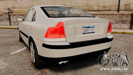 Volvo S60R pour GTA 4 Vue arrière de la gauche