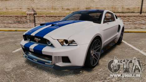 Ford Mustang GT 2013 NFS Edition für GTA 4