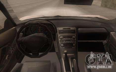 Acura NSX pour GTA San Andreas vue de droite