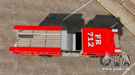 Crimson Spartan Gladiator Firetruck [ELS] für GTA 4 rechte Ansicht