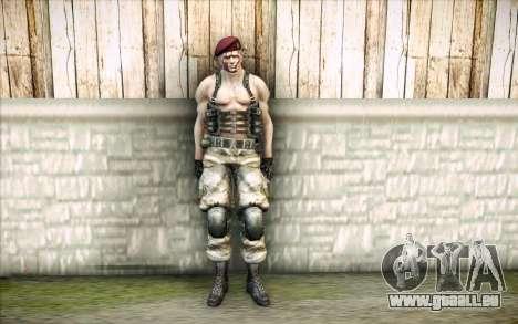 Jack Krauser mercenaire pour GTA San Andreas