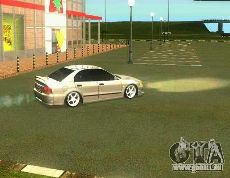 Mitsubishi Galant für GTA San Andreas linke Ansicht