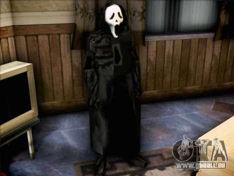Maniaque du film Scream pour GTA San Andreas deuxième écran