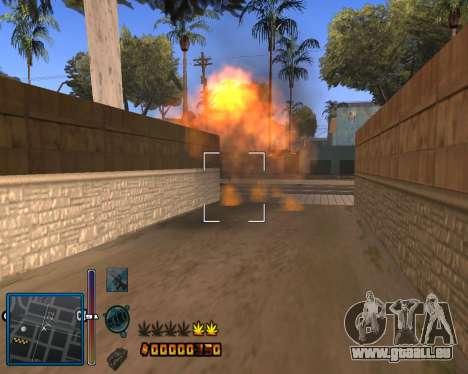 C-HUD by Mike Renaissance pour GTA San Andreas troisième écran