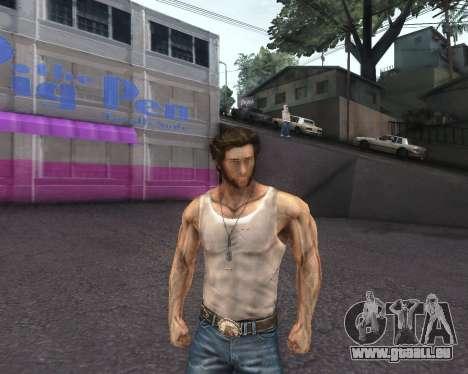 X-men Origins: Wolverine [Skins Pack] pour GTA San Andreas sixième écran