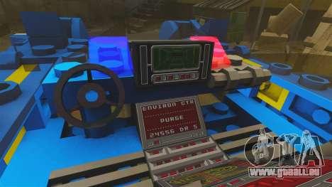 Lego Car Blade Runner Spinner [ELS] pour GTA 4 Vue arrière