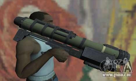 Lance-missile pour GTA San Andreas troisième écran